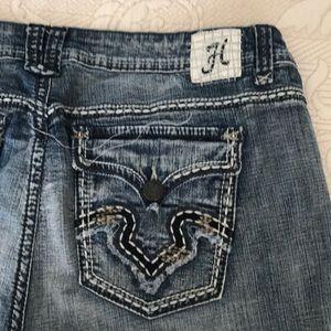 Hydraulic Shorts - Hydraulic Jean Shorts